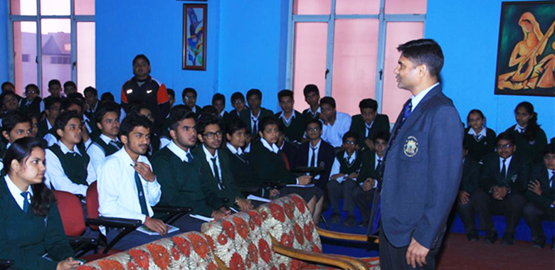Igniting the Achiever Within program for Schools - Cdr Abhishek Kankan